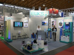 EWKS-Messestand FAKUMA 2014